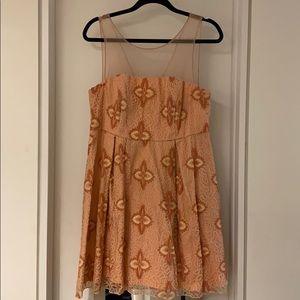 Eva Franco Anthropologie Cocktail Dress Size 12